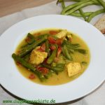 Bohnen-Curry mit Hähnchen