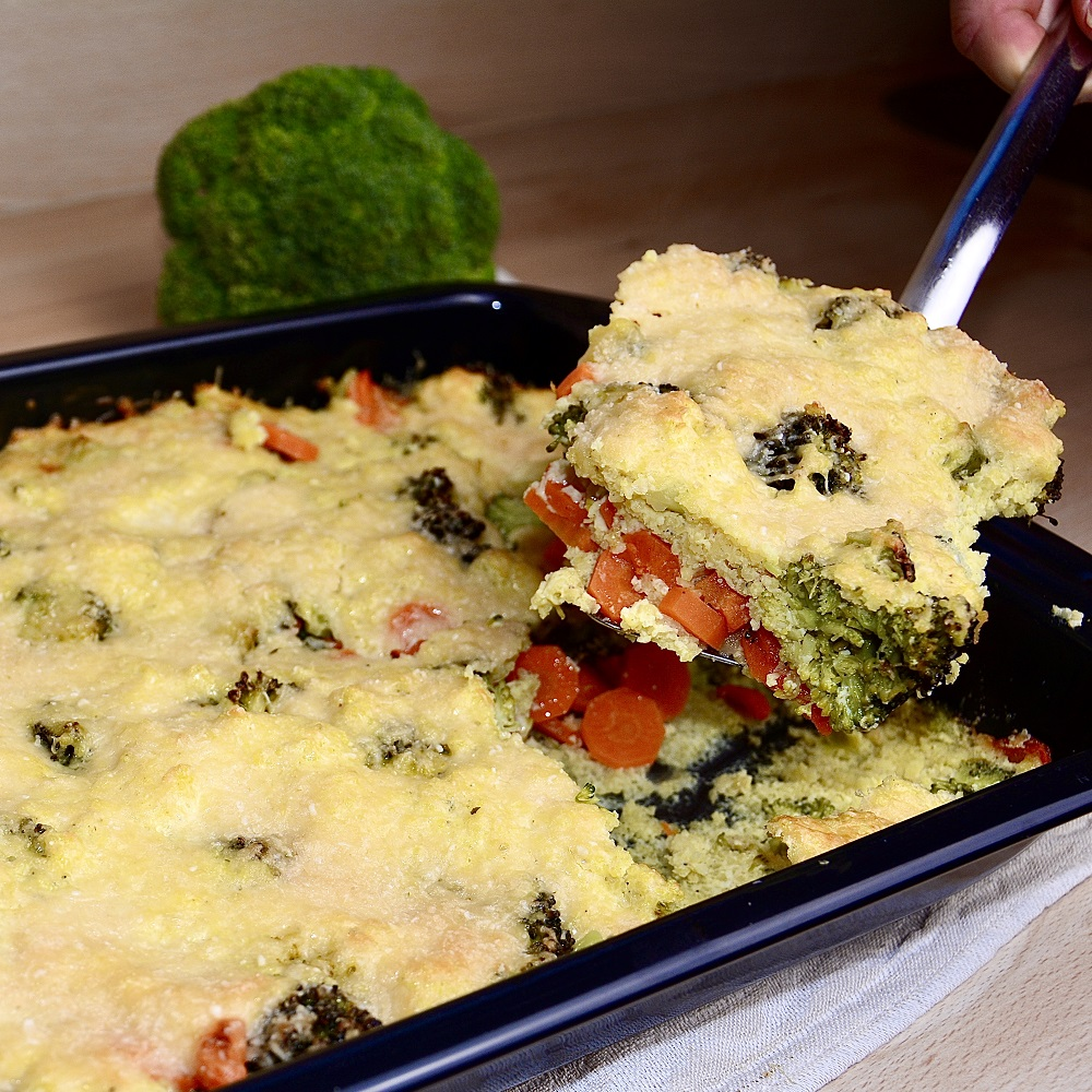 Brokkoli-Hirse-Auflauf