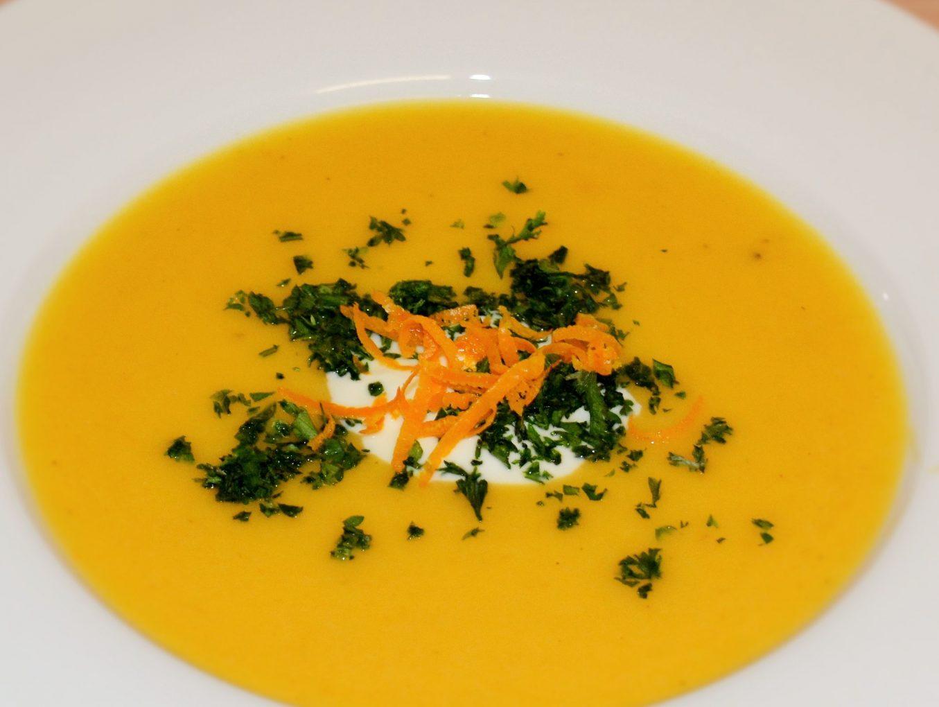 Südafrikanische Butternut-Suppe