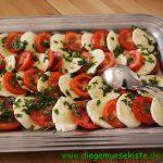 Caprese (Tomaten mit Mozzarella)