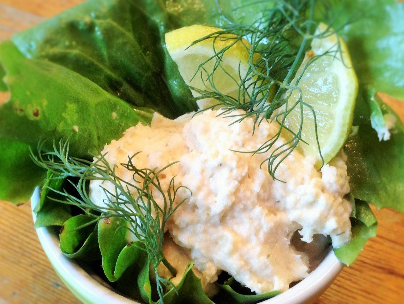 Forellen-Frischkäse-Creme mit Dill