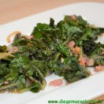 Salat mit Flower Sprouts