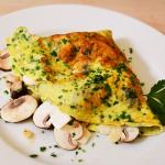 Frittata marchigiana (Champignon-Omelett aus den Marken/Italien)