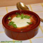 Gebackener Mozzarella mit Tomaten