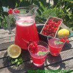 Johannisbeer-Limonade