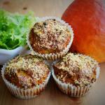 Kürbis-Parmesan-Muffins