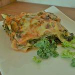 Lasagne mit Grünkohl und Shiitake