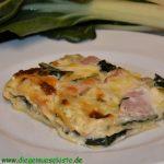 Mangold-Schinken-Lasagne