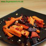 Ofengemüse mit Granatapfelkernen