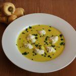 Pastinaken-Senf-Suppe