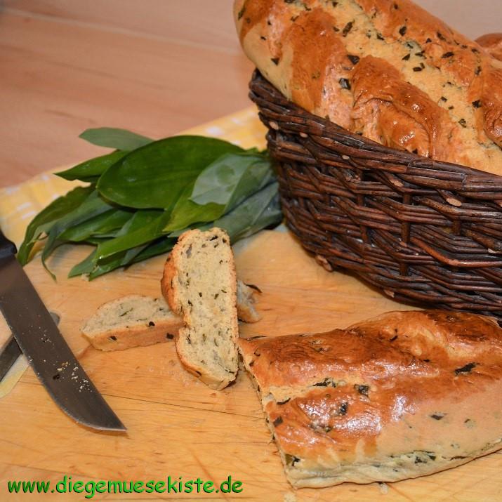 """Ungarisches Bärlauchbrot (""""Pogacsa"""")"""