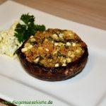 Portobello mit Feta-Füllung