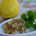 Quitten-Kartoffel-Rösti