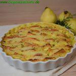 Quitten-Kartoffel-Gratin