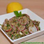 Radieschen-Quinoa-Salat mit Linsen