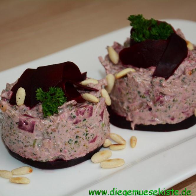 Rote Bete-Brokkoli-Tatar