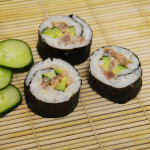 Scharfe Thunfisch-Sushi