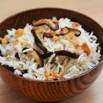 Shiitake-Reis