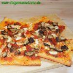 Shiitake-Pizza