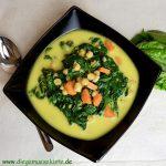 Spinat-Möhren-Curry