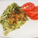Staudensellerie-Omelett