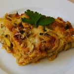 Tofu-Lasagne mit Champignons