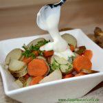 Topinambur-Möhren-Gemüse