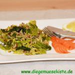 Wirsing-Reis-Gemüse mit Räucherlachs