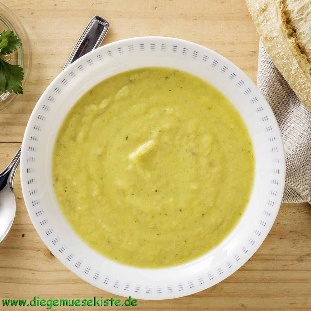 Wurzelpetersilien-Suppe